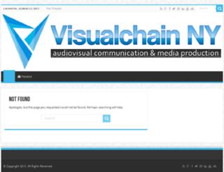 visualchainny.com screenshot
