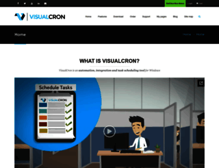 visualcron.com screenshot