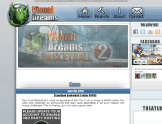 visualdreams.se screenshot