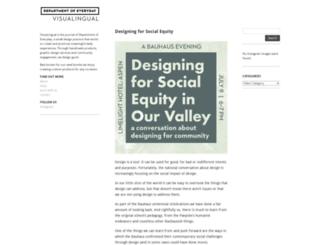 visualingual.wordpress.com screenshot