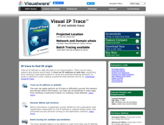 visualiptrace.com screenshot