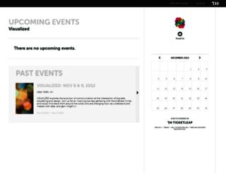 visualized.ticketleap.com screenshot