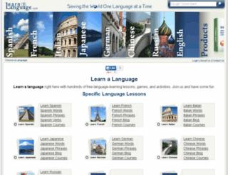 visuallinklanguages.com screenshot