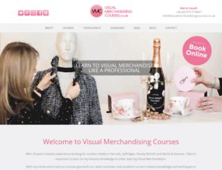 visualmerchandisingcourses.co.uk screenshot