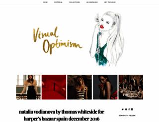 visualoptimism.blogspot.co.at screenshot