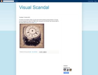 visualscandal.blogspot.com screenshot