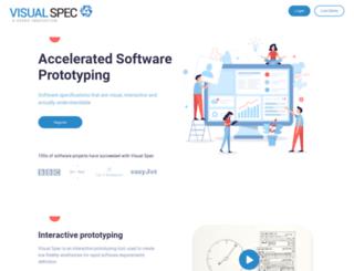 visualspec.co.uk screenshot