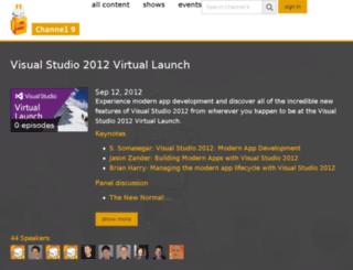 visualstudiolaunch.com screenshot