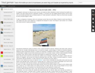 visulgerman.blogspot.ro screenshot
