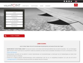 visumpoint.de screenshot