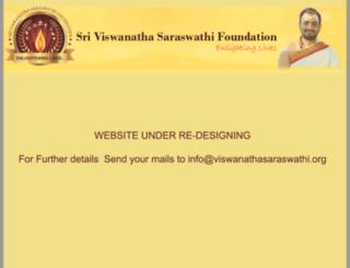 viswanathasaraswathi.org screenshot