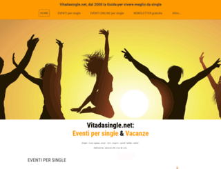vitadasingle.net screenshot