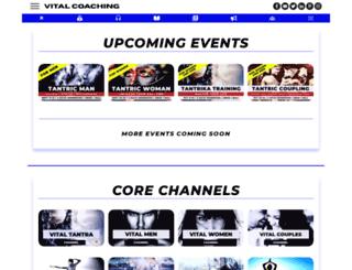 vitalcoaching.com screenshot