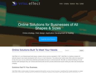 vitaleffect.com screenshot