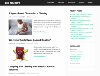 vitalhealthinfo.com screenshot