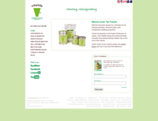 vitalifematcha.com screenshot
