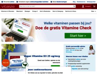 vitalize.nl screenshot