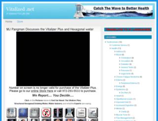 vitalized.net screenshot