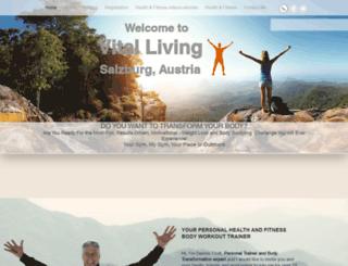 vitalliving.co.nz screenshot