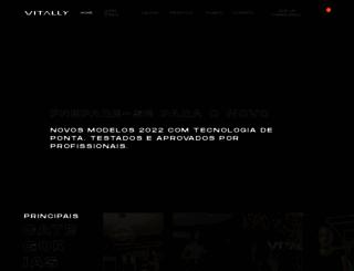 vitally.com.br screenshot