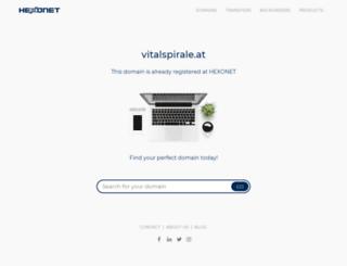 vitalspirale.at screenshot