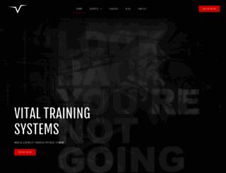 vitalstrengthandfitness.com screenshot