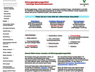 vitaltreff.net screenshot