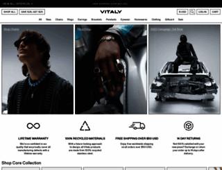 vitalydesign.com screenshot