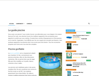 vitapiscine.com screenshot