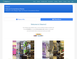 vitasims3.com screenshot