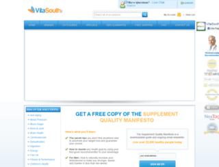 vitasouth.com screenshot