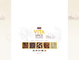 vitaspice.com.br screenshot