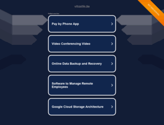 vitastik.de screenshot