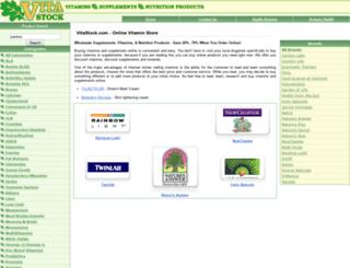 vitastock.com screenshot