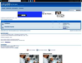 vitebus.forumactif.org screenshot