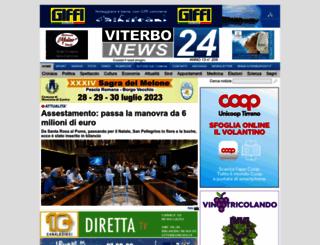 viterbonews24.it screenshot