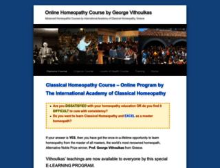 vithoulkas.hpathy.com screenshot