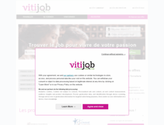 vitijob.fr screenshot