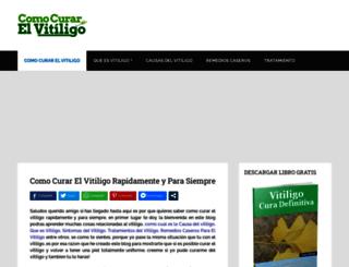 vitiligocura.net screenshot