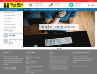 vitinhbachkhoa.com screenshot