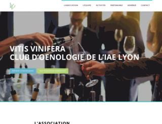 vitisvinifera-iaelyon.fr screenshot