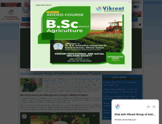 vitm.edu.in screenshot