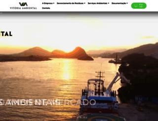 vitoriambiental.com.br screenshot