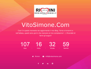 vitosimone.com screenshot