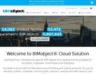 vitral.bimobject.com screenshot