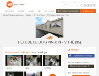 vitre.spa.asso.fr screenshot
