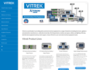 vitrek.com screenshot