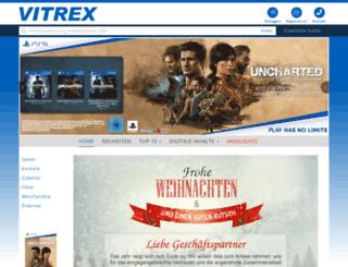 vitrex-shop.com screenshot
