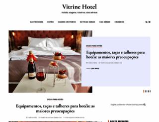 vitrinehotel.com.br screenshot
