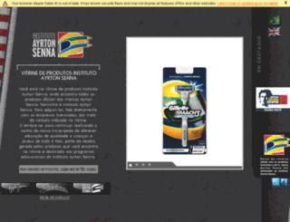 vitrineias.com.br screenshot